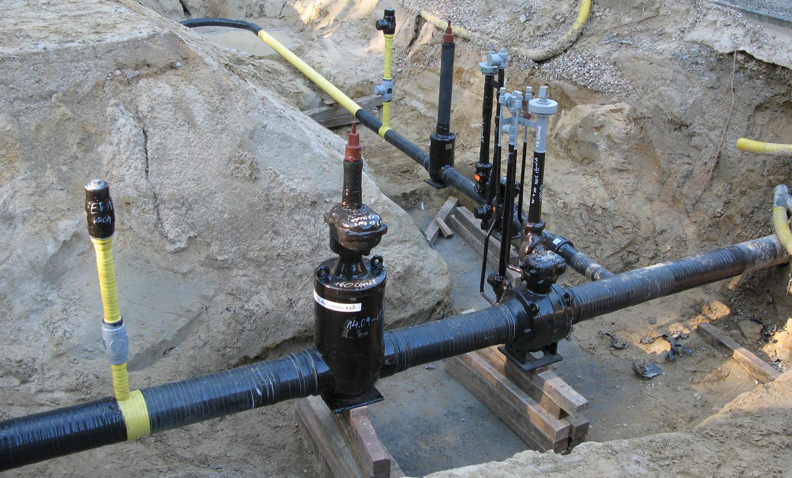 Gasanlagen - Nahansicht