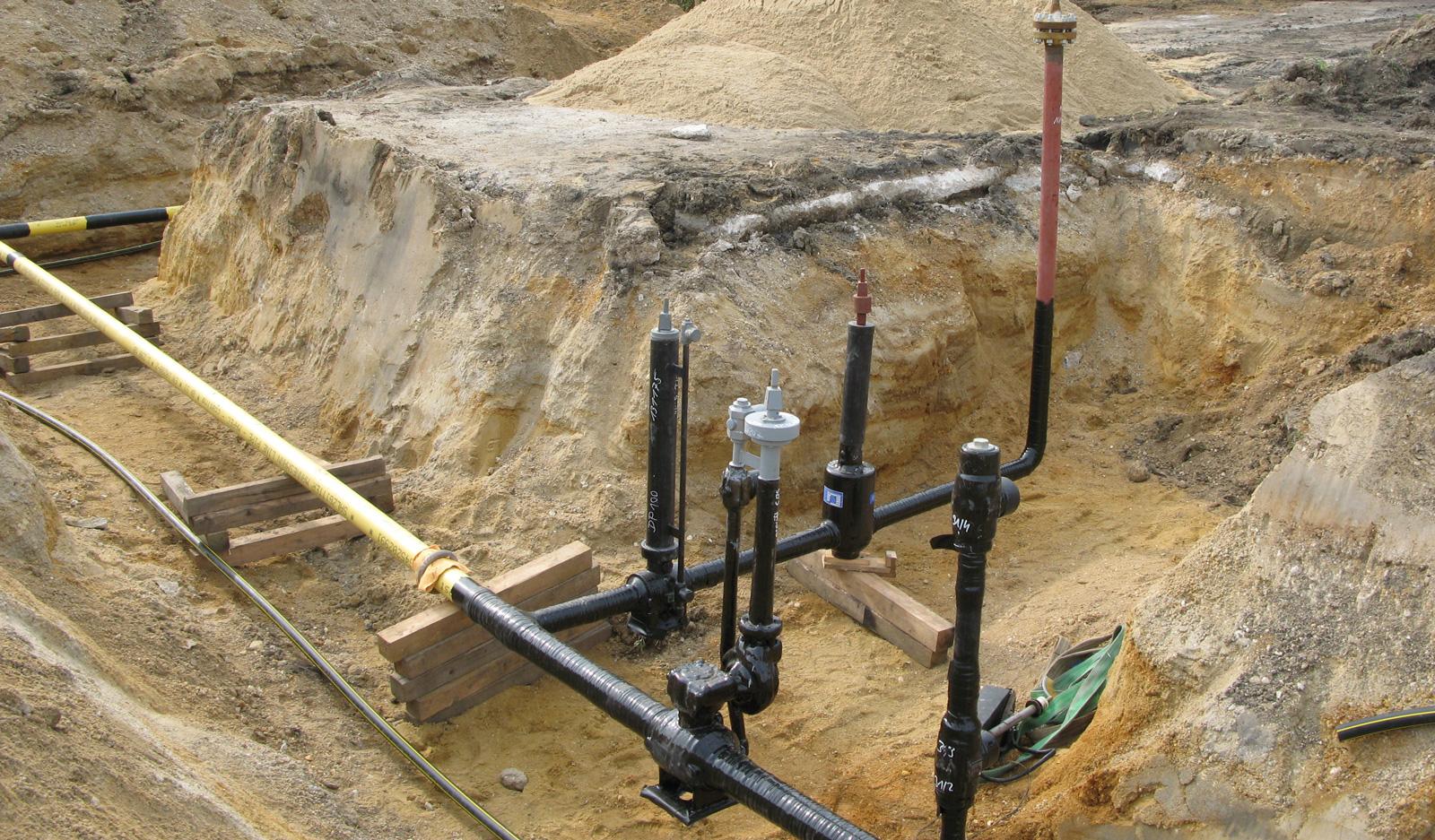 Gasanlagen - Fernansicht